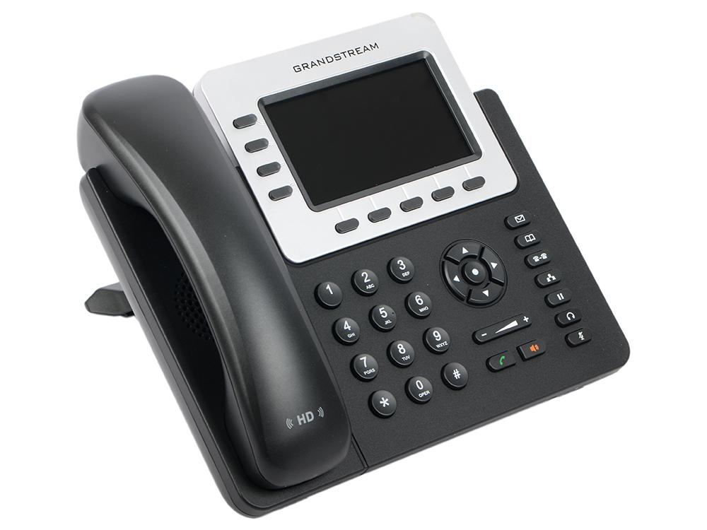 Телефон IP Grandstream GXP-2140 4 линии 4 SIP-аккаунта 2x10/100/1000Mbps цветной LCD USB PoE телефон ip grandstream gxp1628 2 линии 2 sip аккаунта 2x10 100 1000mbps lcd poe blf