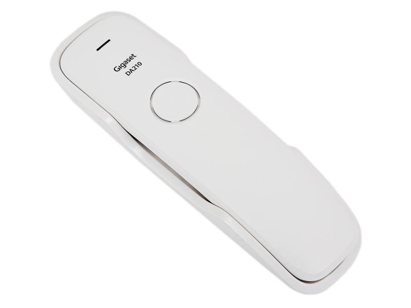 Телефон Gigaset DA210 White (проводной) аккумулятор для инструмента pitatel для makita tsb 038 mak96stick 30m