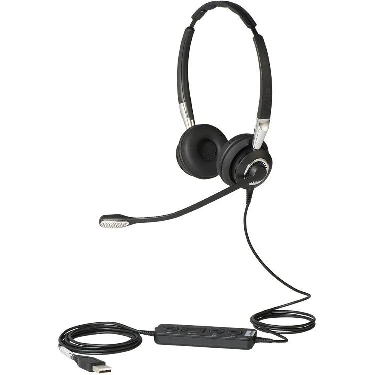 Гарнитура Jabra BIZ 2400 II Mono USB 3-1 MS 2496-823-309 цена и фото
