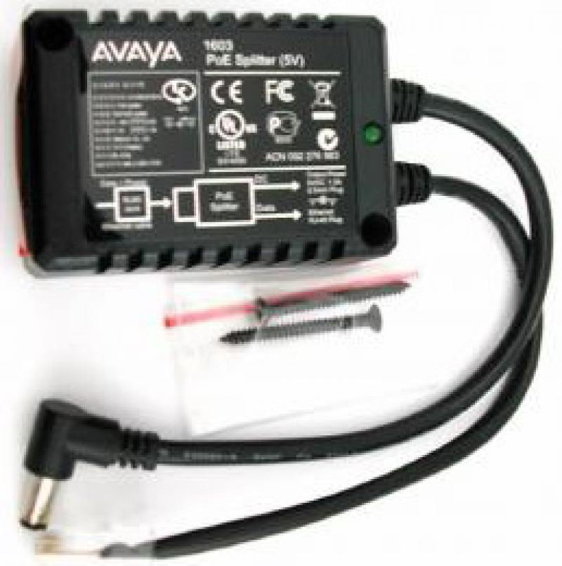 Блок питания Avaya PWR ADPTR POE 1603 IP PHONE 700415607 6 sip lines ip phone support poe function