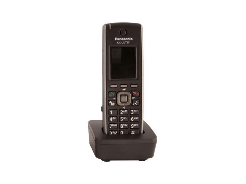 Фото - Телефон IP Panasonic KX-UDT111RU SIP DECT черный телефон ip dect panasonic kx tgp600rub sip цифр ip телефон voip ethernet upto 8 hset line память 500 звук hd