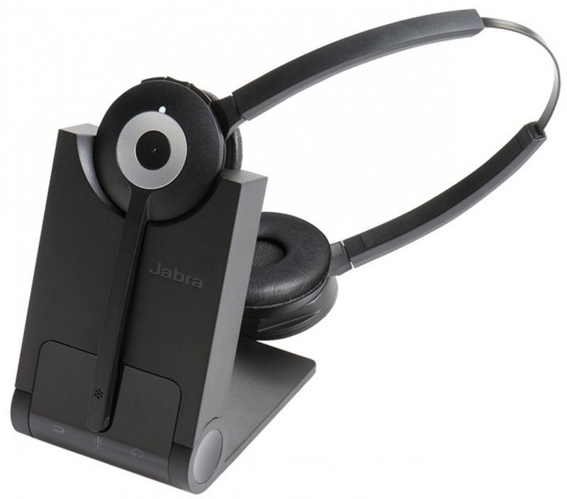 Гарнитура Jabra Pro 930 Duo MS EMEA DECT 930-29-503-101 гарнитура jabra uc voice 550 ms duo
