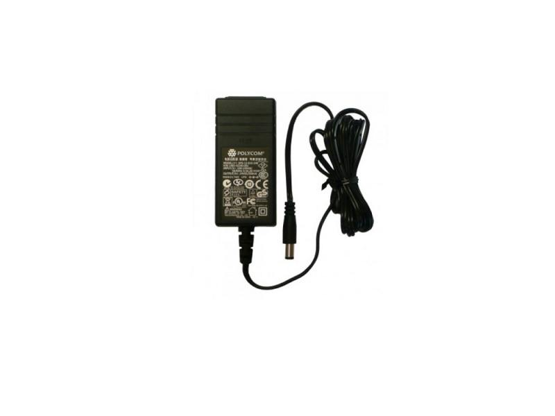 Фото - Блок питания Polycom 2200-46170-122 для IP телефонов VVX 300/310/400 запчасти для телефонов