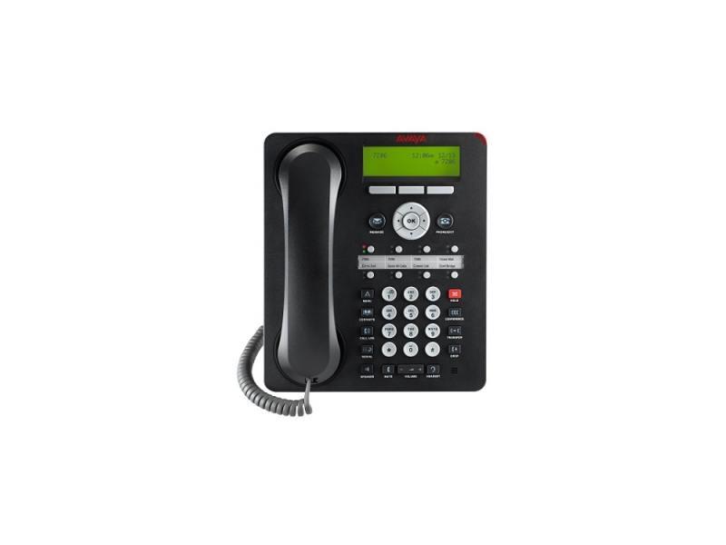 Телефон IP Avaya 1408 черный 700469851 карта sd avaya 700479702