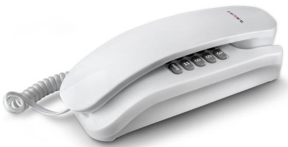 Телефон проводной Texet TX-215 белый texet tx d4505a white grey