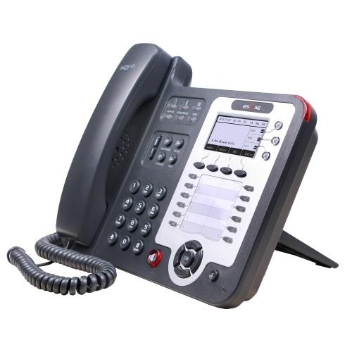 SIP-телефон Escene ES330-PEN 3 SIP аккаунта; 132x64 LCD-дисплей; 8 программируемых клавиш, 12 клавиш быстрого набора BLF, XML/LDAP; регулируемая подст sitemap 165 xml