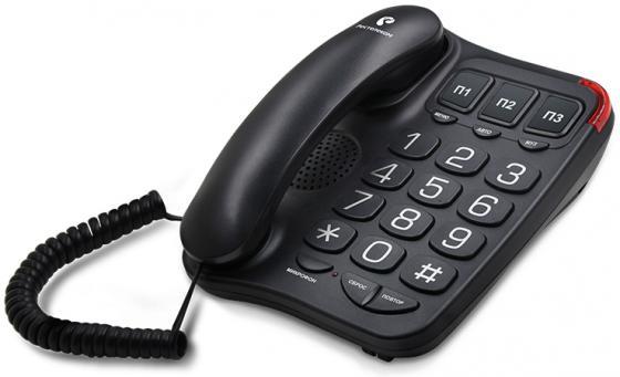 TEXET 214-TX цвет черный цены