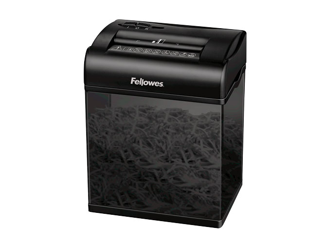 все цены на Шредер Fellowes Shredmate 3,9х23мм, 4лcт.,4.5лтр. карт/скоб. раб. цикл 2 мин. онлайн