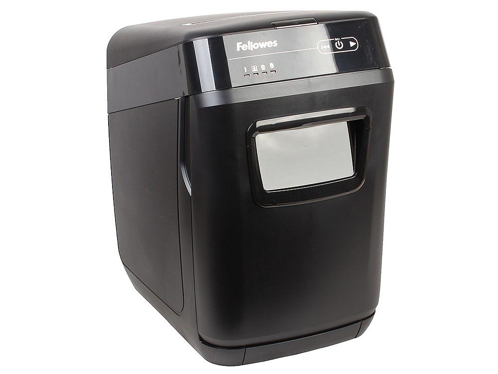 Шредер Fellowes AutoMax® 130C, автоподача, DIN P-3, 4x38 мм, 130лст. авто, 8 ручн., 32 лтр., автореверс цена и фото