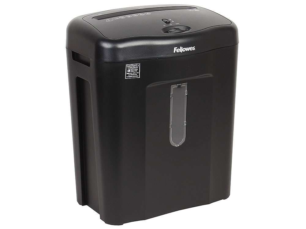 Шредер Fellowes Powershred 11C, DIN P-3, 4х52мм, 11лст., 18лтр., Safety Lock цена