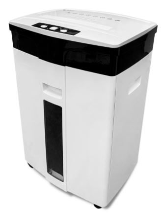 Шредер ГЕЛЕОС УМ28-5 DIN P-5 (5 ур-нь секр.), 28 литров, фрагмент 1,9х12мм, 13-14 лист (70г/м2), CD/пл.карты/скрепки/скобы цены