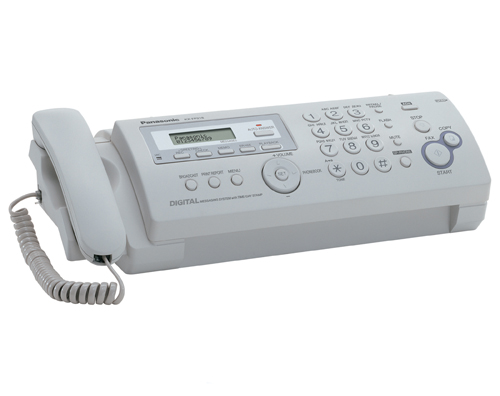 Факс Panasonic KX-FP218RU (Обычная бумага А4)