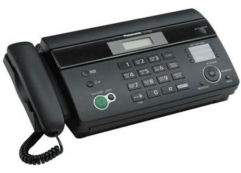 Факс Panasonic KX-FT982RU-B (термобумага)