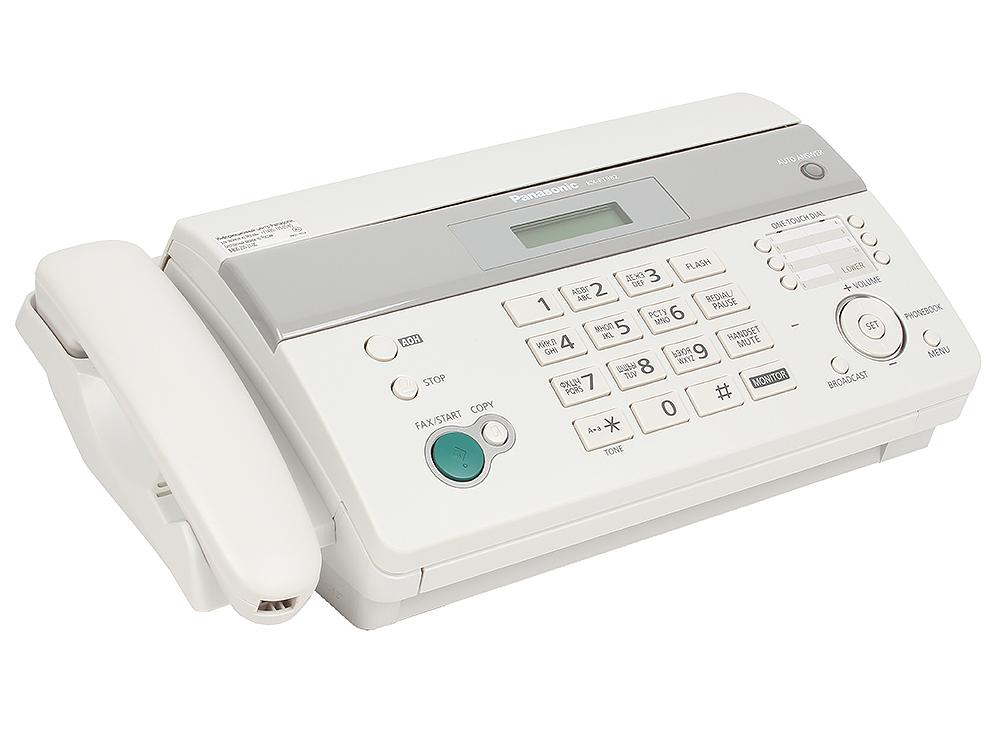 Факс Panasonic KX-FT982RU-W (термобумага) цена и фото