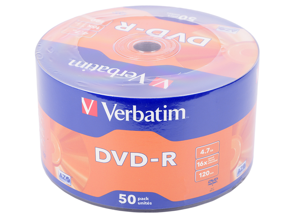 Диски DVD-R Verbatim 16x 4.7Gb Wrap Spindle 50шт 43788 high speed 300w water cooled spindle motor 75v er8 collet milling spindle