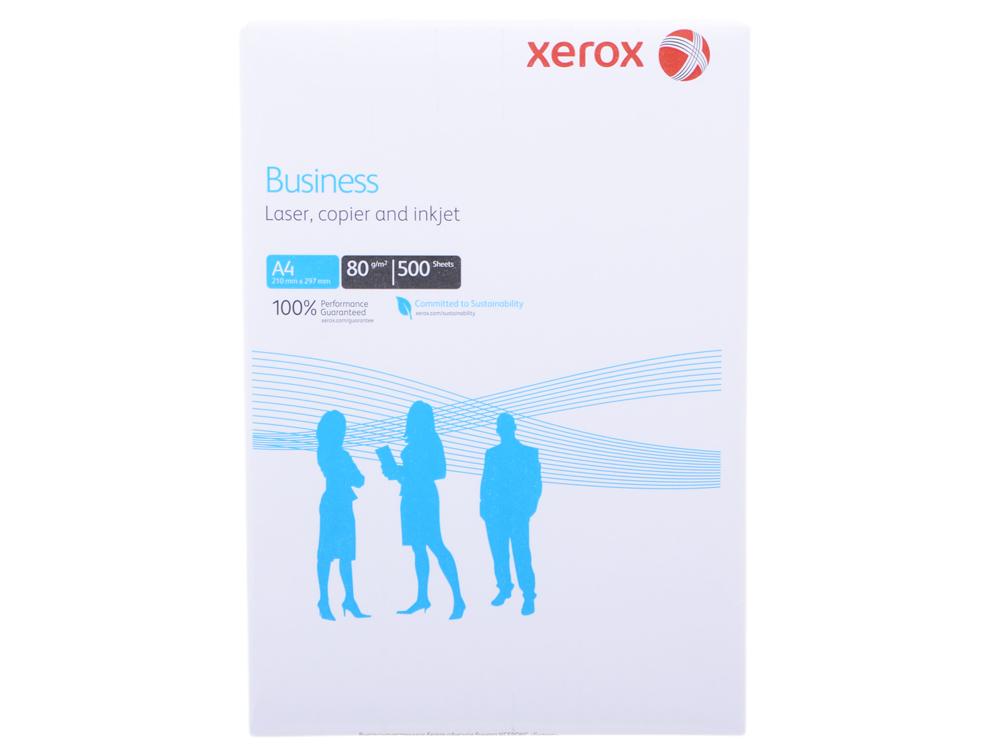 Картинка для Бумага в листах белая офисная Xerox Business A4, 80 г/м2, 500л.