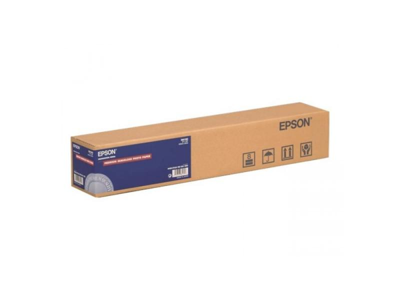 Бумага Epson Premium Semigloss Photo Paper 170 24 X 30.5м 170г/м2 C13S041393 бумага epson c13s041330 premium semiglossy photo paper 100 8m 251г м2