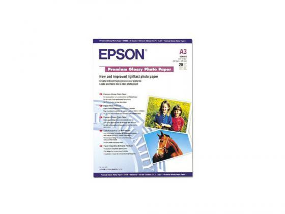 Фотобумага Epson A3+ 250г/м2 глянцевая 20л C13S041316 цена