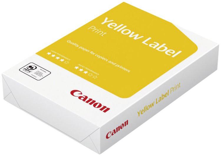 Бумага Canon Yellow Label Copy A4/80г/м2/500л. бумага a4 xerox perfect print plus 80г м 500л
