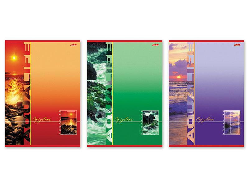 Фото - Тетрадь 80 л., А4 HATBER, клетка, выборочный лак, Аквалайф тетрадь 80 л а4 hatber клетка выборочный лак аквалайф
