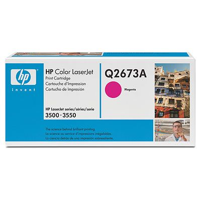 Картридж HP Q2673A пурпурный (magenta) 4000 стр для HP Color LaserJet 3500/3550 цена 2017