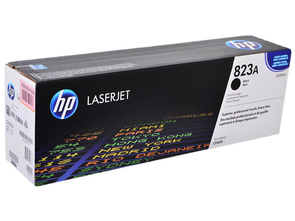 Картридж HP CB380A Чёрный картридж CP6015
