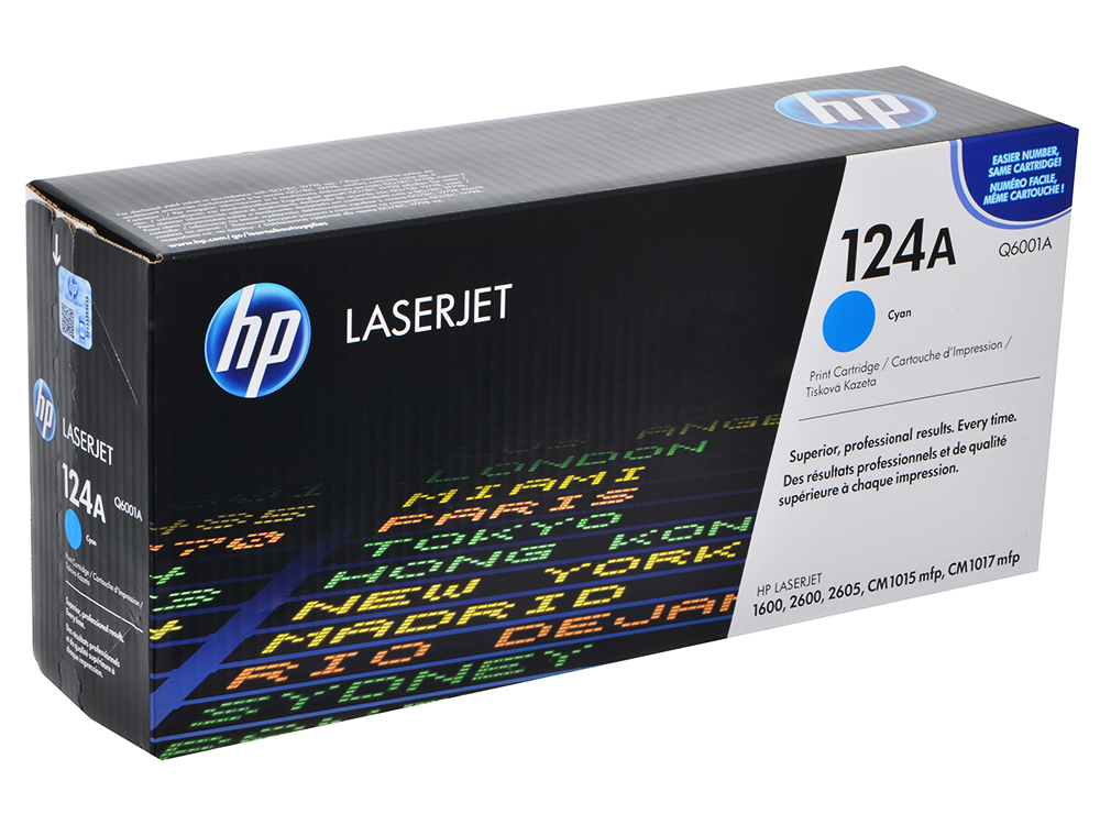 Картридж HP Q6001A (Color LaserJet 1600 ) Голубой картридж hp c9465a