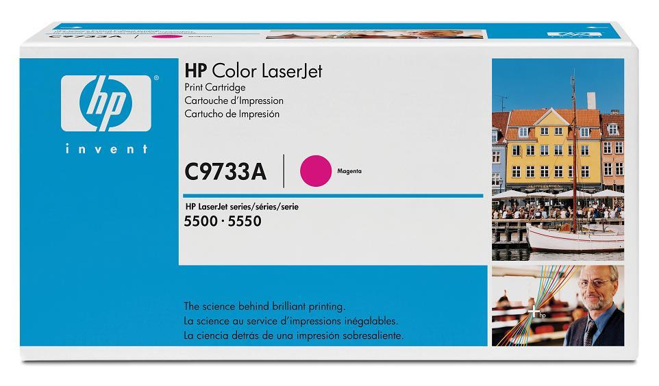 Картридж HP C9733A (LJ5500) Пурпурный картридж hp c9733a для hp 5500 5550dn 5550dtn 5550hdn 5550n пурпурный