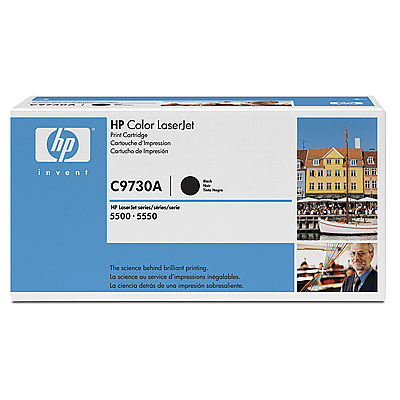 Картридж HP C9730A (LJ5500) Чёрный картридж hp f9j66a