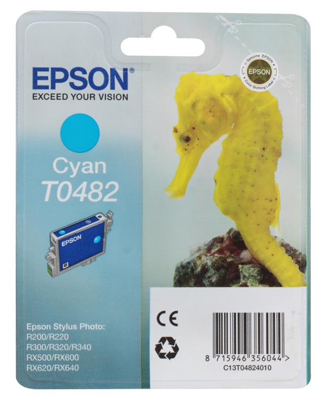 Картридж Epson Original T048240 (синий) /для ST Photo R300/R300ME/
