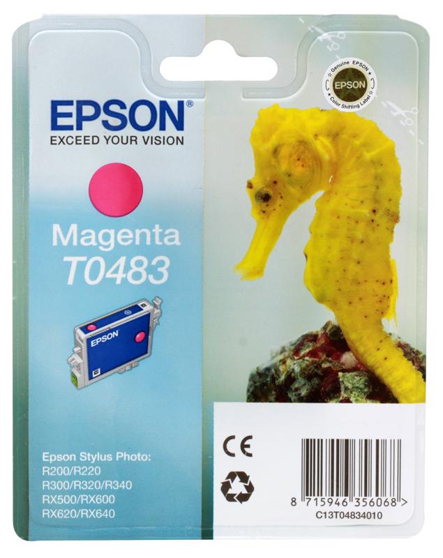 Картридж Epson Original T048340 (красный) /для ST Photo R300/R300ME/