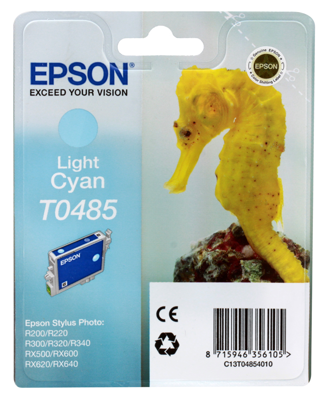 цена Картридж Epson Original T048540 (светло-синий) /для ST Photo R300/R300ME/ онлайн в 2017 году