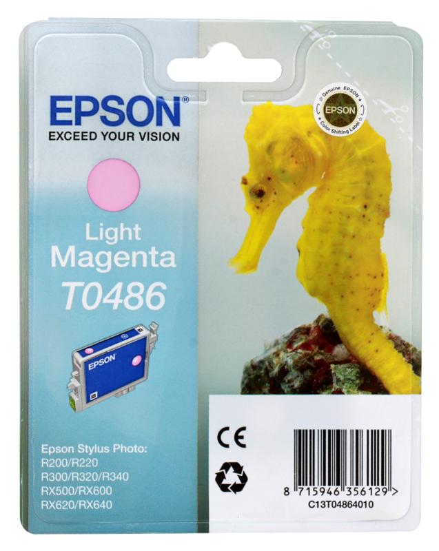 Картридж Epson Original T048640 (светло-красный) /для ST Photo R300/R300ME/