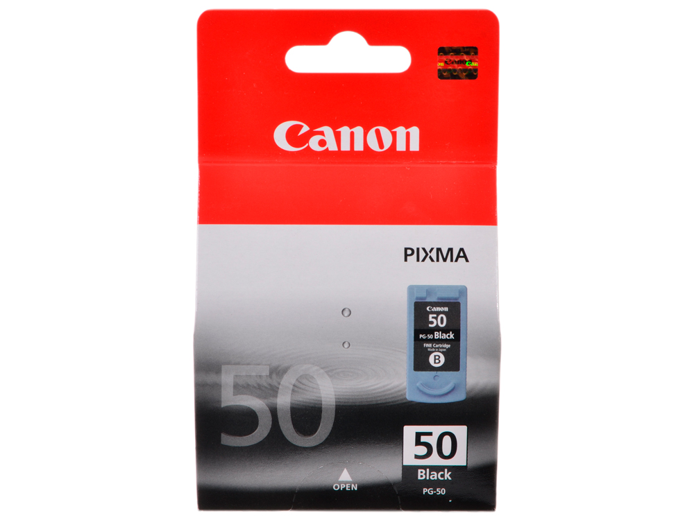Картридж Canon PG-50 для PIXMA MP450/MP170/MP150/iP2200. Чёрный. 510 страниц. картридж canon pg 46 для pixma e404 e464 черный 9059b001