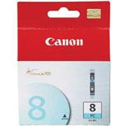 Фоточернильница Canon CLI-8PC для PIXMA iP6600D/IX5000. Голубой. 5700 страниц. чернильница canon cli 36color для pixma ip100 ip110 цветной 250 страниц