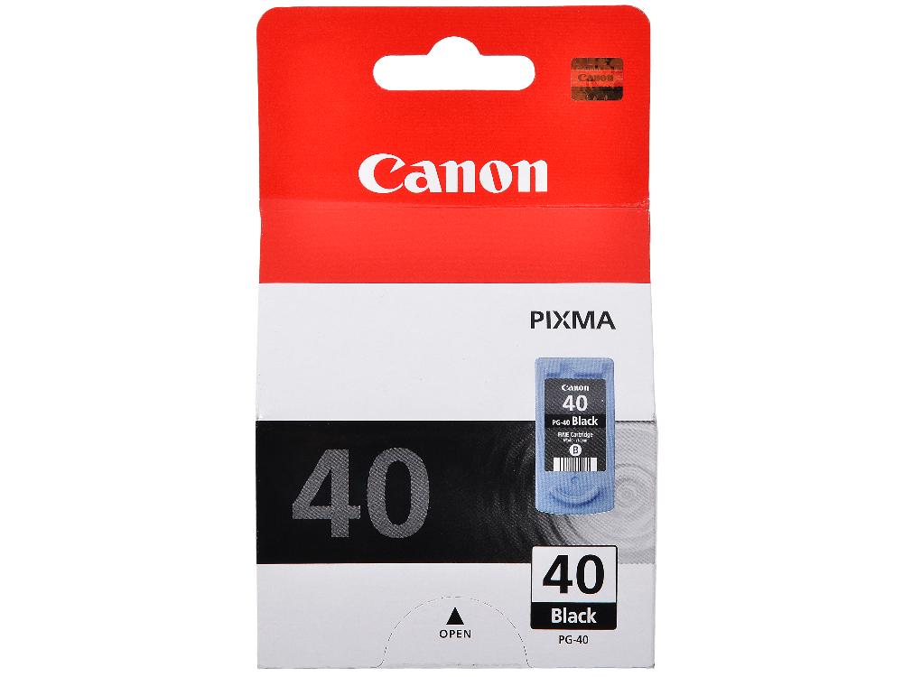 Картридж Canon PG-40 для PIXMA MP450/MP170/MP150/iP2200/iP1600. Чёрный. 330 страниц. фото