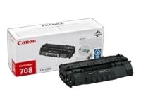 Картридж Canon 708 для принтеров CANON i-SENSYS LBP3300/LBP3360. Чёрный. 2500 страниц. картридж canon m cartridge для pc1210 1230 1270d чёрный 5000 страниц