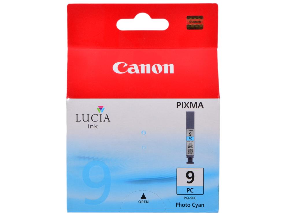 Фотокартридж Canon PGI-9PC для PIXMA Pro9500. Голубой. 720 страниц. qy6 0077 ten color print head used for canon pro9500 pro9500 mark ii good quality quality services