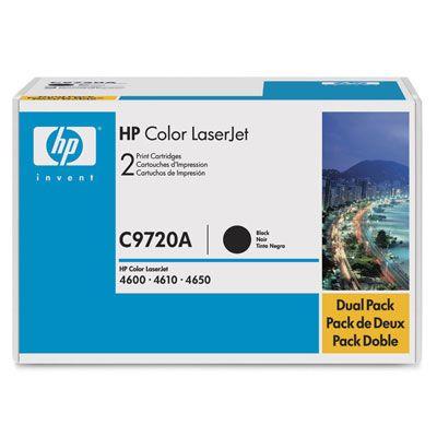 Картридж HP C9720A (для Color LJ4600) черный картридж hp b6y14a
