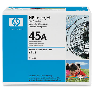 Картридж HP Q5945A (Color LJ 4345) черный hp n82 черный ch565a