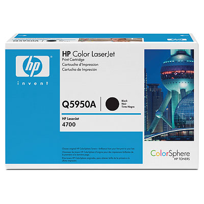 Картридж HP Q5950A (Color LJ4700) черный