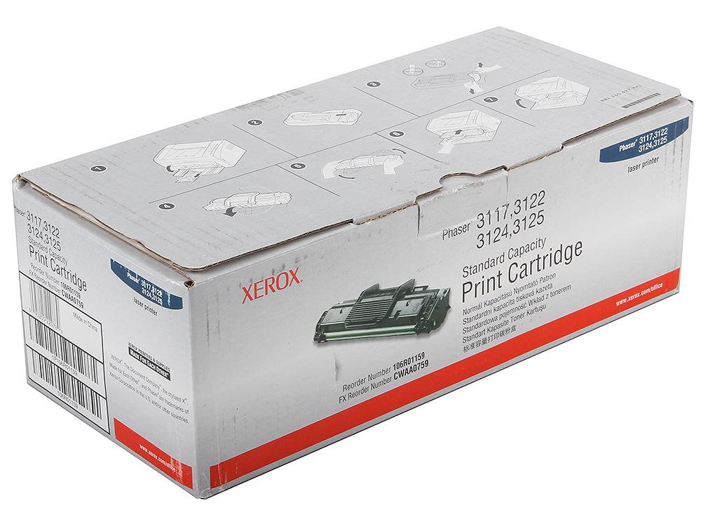 Картридж Xerox 106R01159 для PH3117/3122. Чёрный. 3000 страниц. lacywear s14316 3247 3122