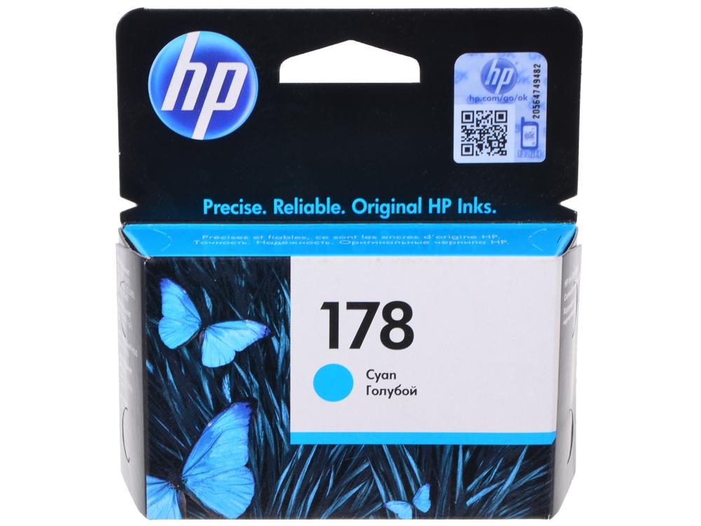 Картридж HP CB318HE (№ 178) синий, 4 мл, PS D5463 C5383 / C6383 300 картридж hp cb319he 178 для photosmart c5383 c6383 d5463 prob8553 пурпурный 300стр