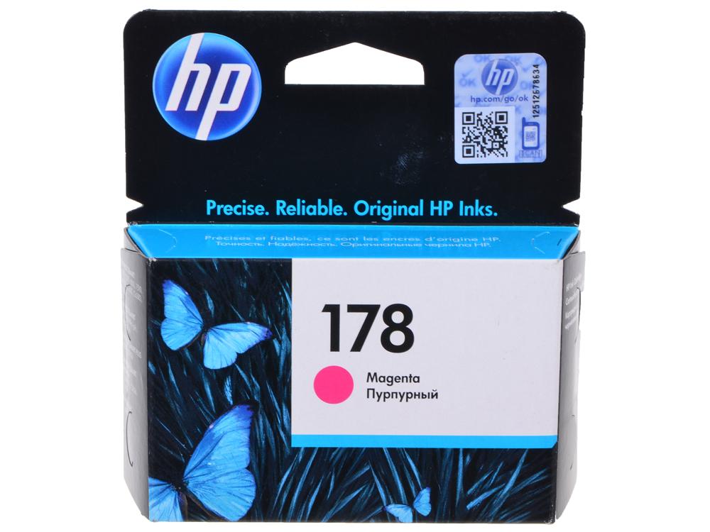Картридж HP CB319HE (№ 178) пурпурный, 4 мл, PS C5383/C6383/D5463 цена