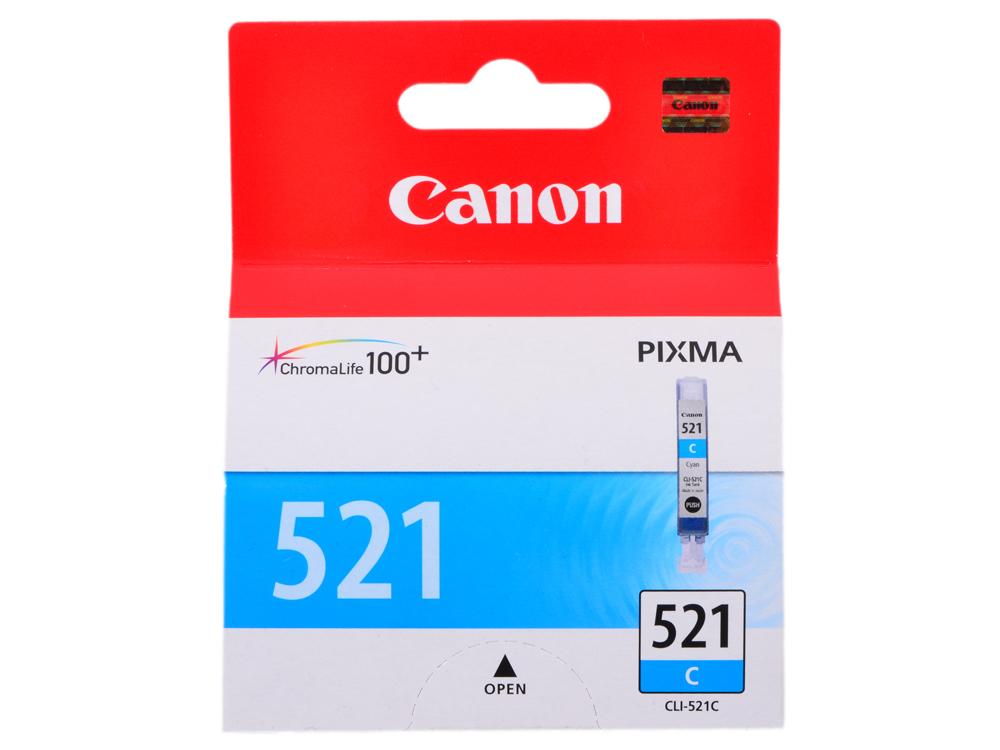 Картридж Canon CLI-521C картридж canon cli 521y