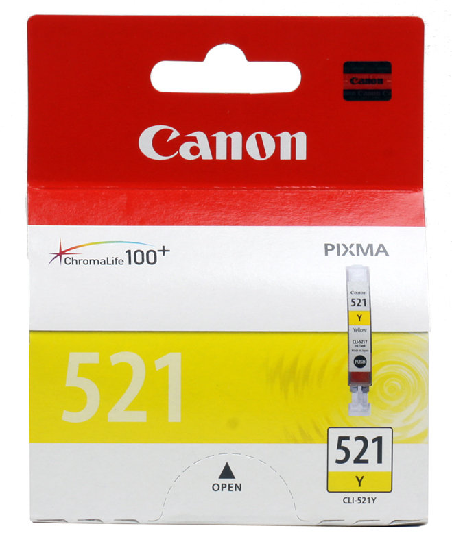 Картридж Canon CLI-521Y картридж canon cli 521y