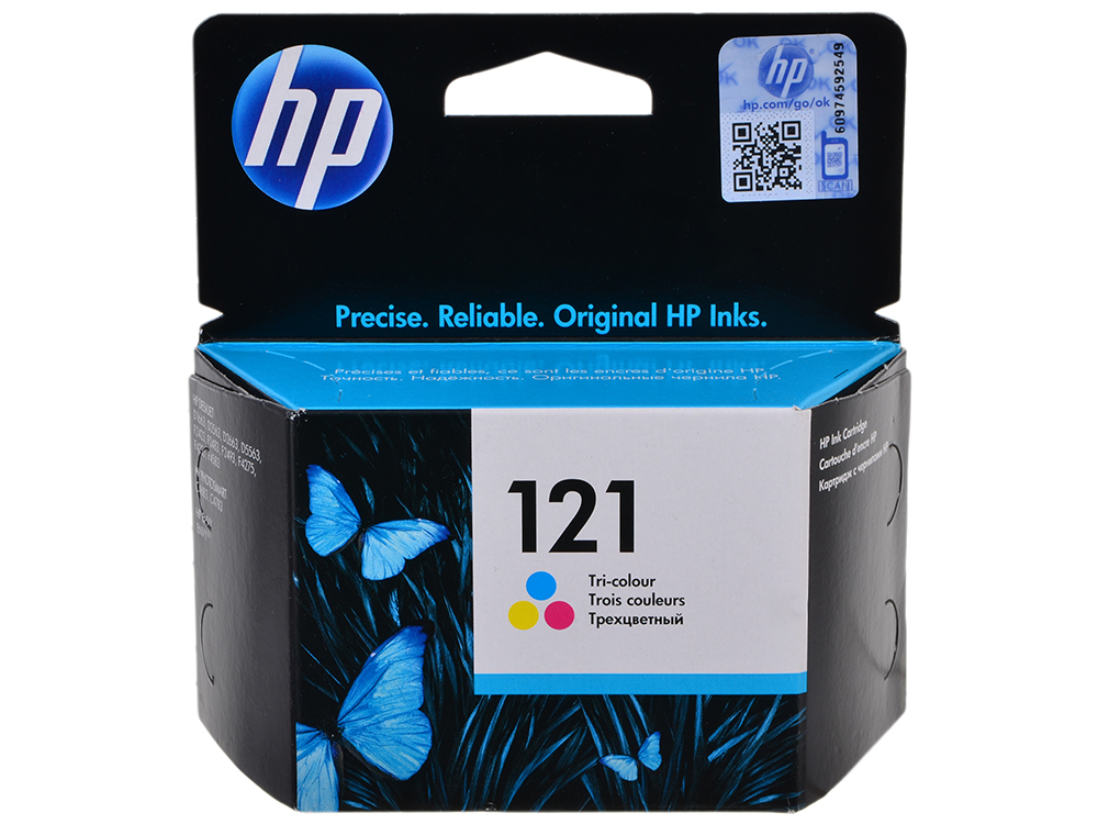 Картридж HP CC643HE (№ 121) цветной DJ D2563, F4200 цена