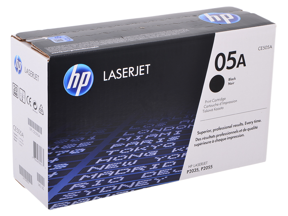 Картридж HP CE505A (для P2055/P2035) alzenit for hp p 2035 2055 p2035 p2055 used fuser assembly rm1 6406 rm1 6405 laserjet printer parts