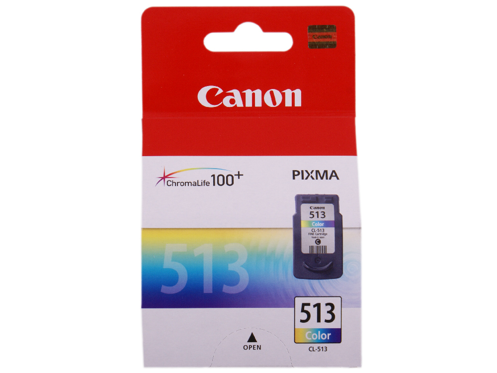 Картридж Canon CL-513 для PIXMA MP260. Повышенной ёмкости. Цветной. 350 страниц. фото