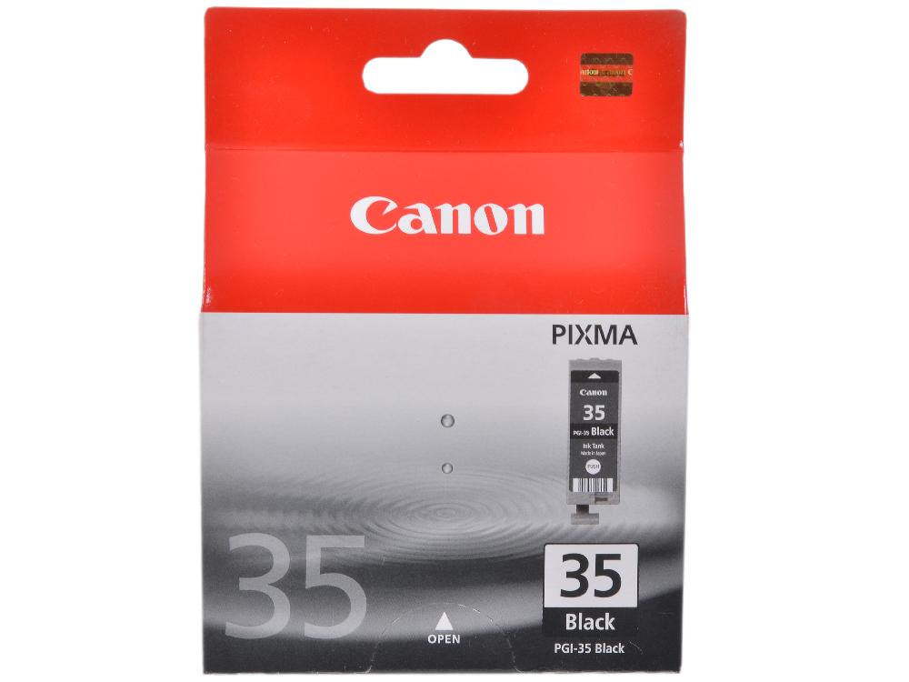 Картридж Canon PGI-35 для iP100. Чёрный. картридж canon pgi 5bk